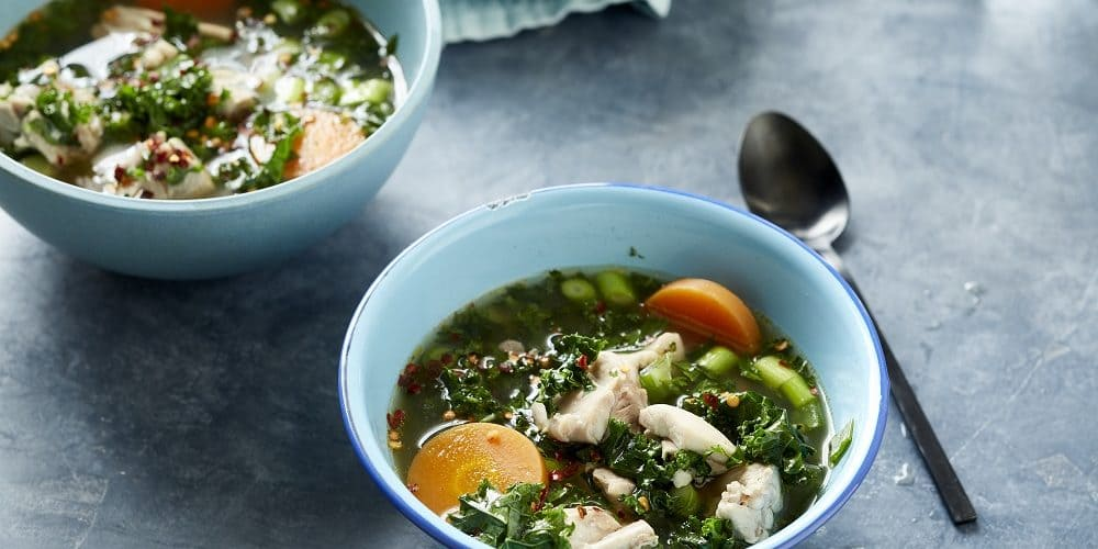 poached-chicken-in-broth